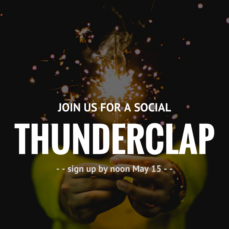 Sign up for the #NWHW Thunderclap!Share the same message on May 15th with thousands of people across the country - Supporting women's health is as easy as donating a social media message! Join others across the country as they unite with one message and encourage women to make their health a priority.Sign up for the National Women's Health Week Thunderclap before 12 p.m. ET on Monday, May 15, 2017 and select to have the official NWHW message shared automatically on your Facebook, Twitter, and/or Tumbler.