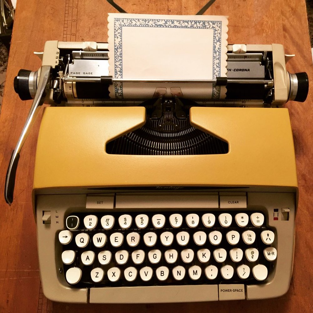 Where's the 1 Key?: Alex's Typewriter Blog - A feminist typewriter blog about portable machines, their care, and their quirks.