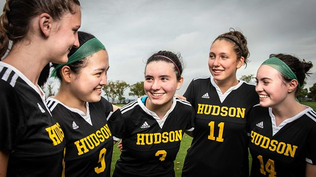 #Advertising shot for the sports team. #Huddle #Football #Soccer #Sports #Hudson #USA