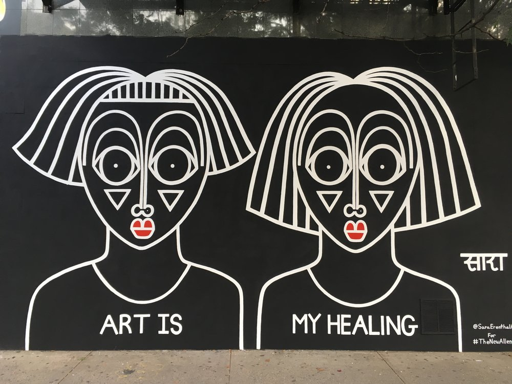 """Art Is My Healing"" 2017"