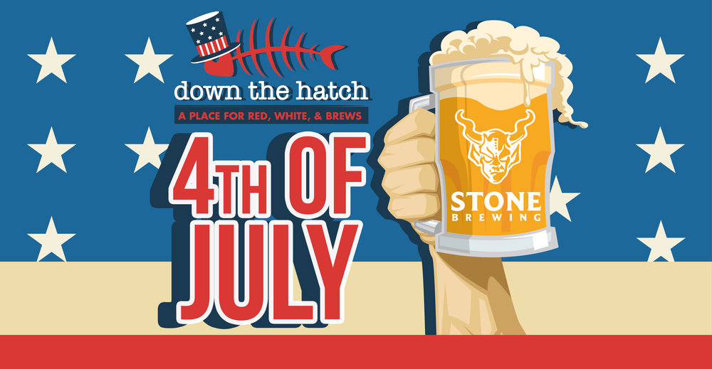 Stone Brewing — News | Down the Hatch & Breakwall Shave Ice Co