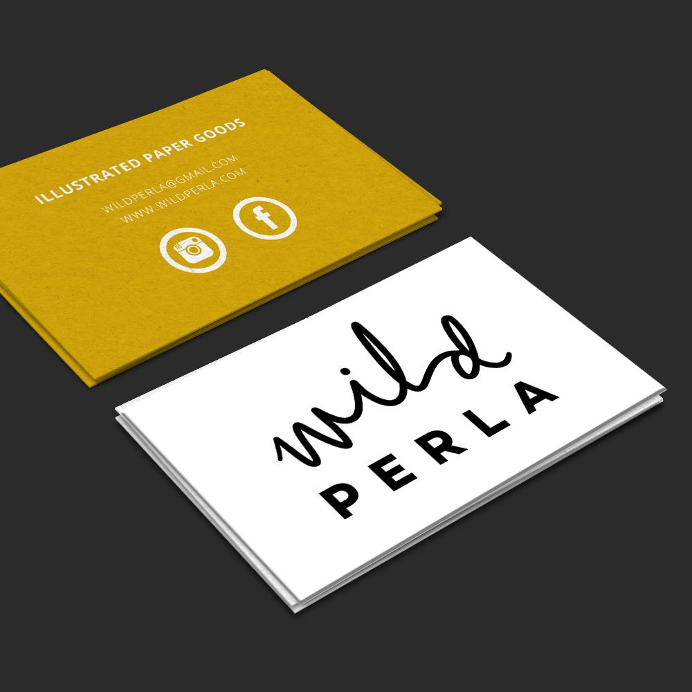 Wild Perla { branding }