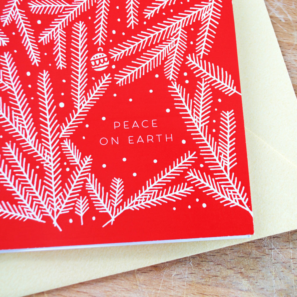 Peace on Earth { paper goods }
