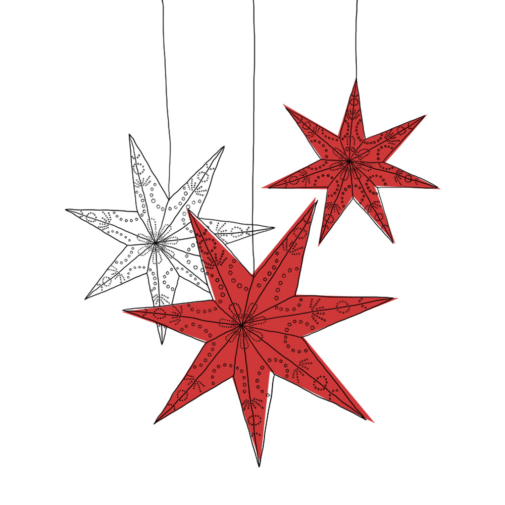 Star Lanterns { illustration }