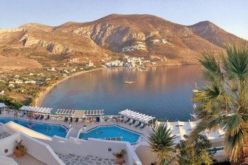 amorgos island, Greece -