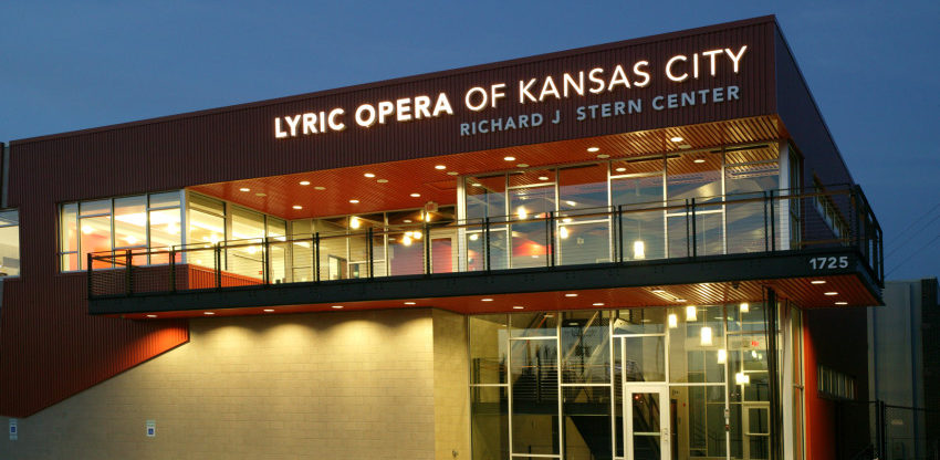 Lyric Opera of Kansas City's Richard J. Stern Center by Perform Ink Kansas City