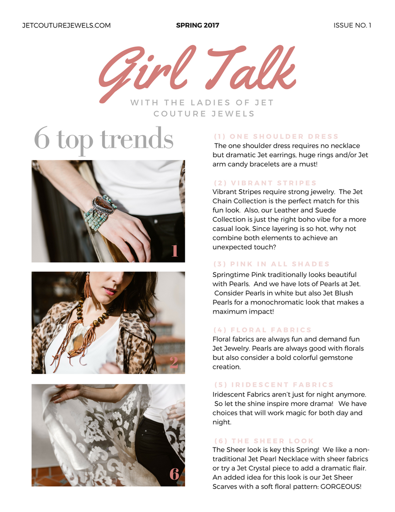 Jet Spring Newsletter Girl Talk