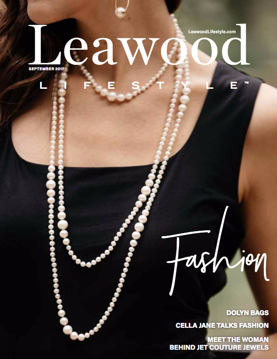 Leawood Lifestyle Magazine Cover Jet Couture Jewels Country Club Plaza