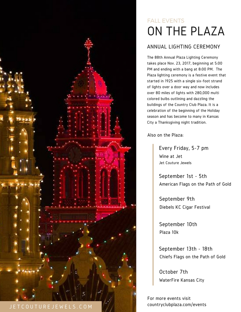 Jet Couture Jewels Kansas City Country Club Plaza Fall Newsletter