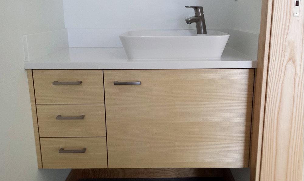 Bathroom vanity. Red Lodge, MT