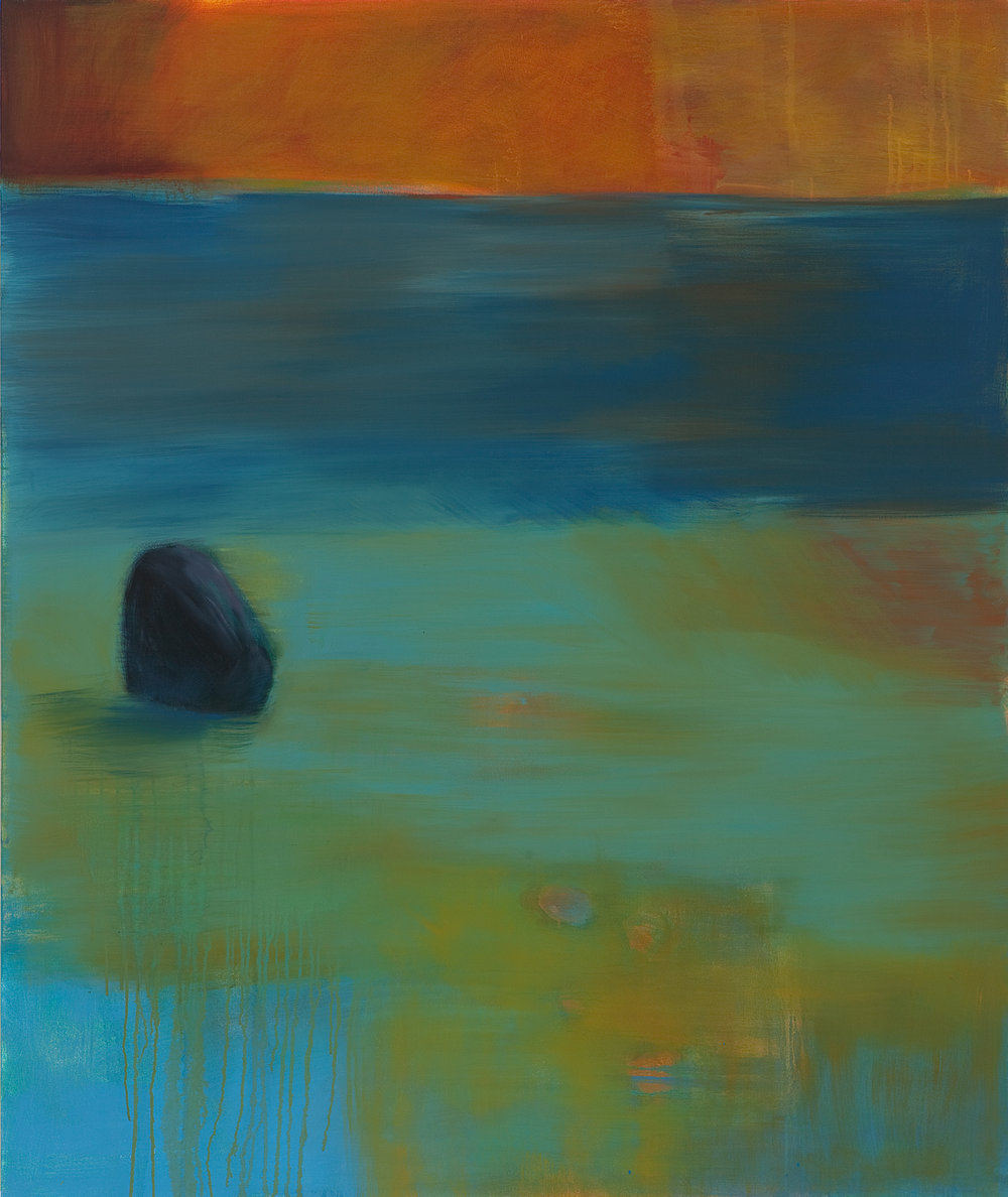 Stone, oil on canvas