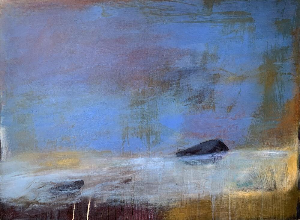 Tar, oil on canvas