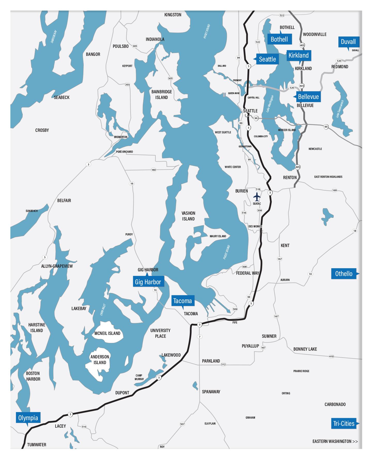 Custom Map Design    // RE/MAX Northwest
