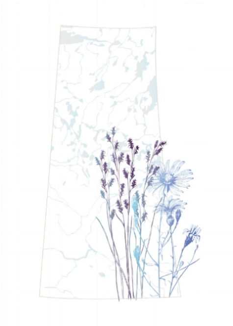 Saskatchewan Map - Flowers.jpg