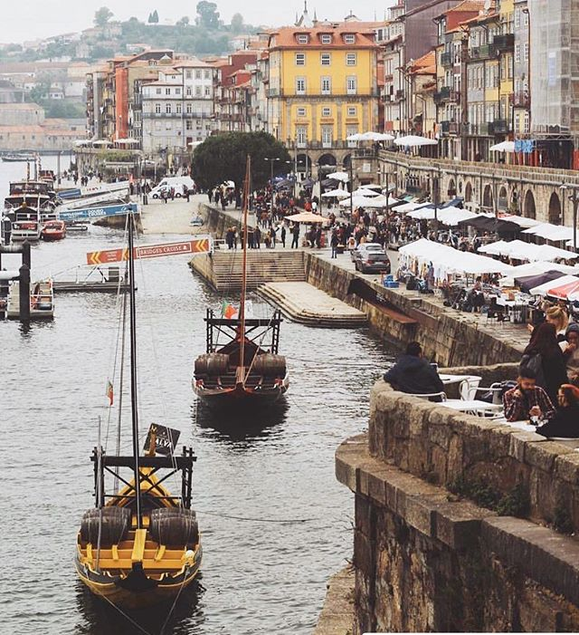 Missing our beautiful city of Porto ! #porto #portugal #eastvillage #beautiful #sun #family #farmtotable #sustainable #leedgold #port #wine  #cod #holiday