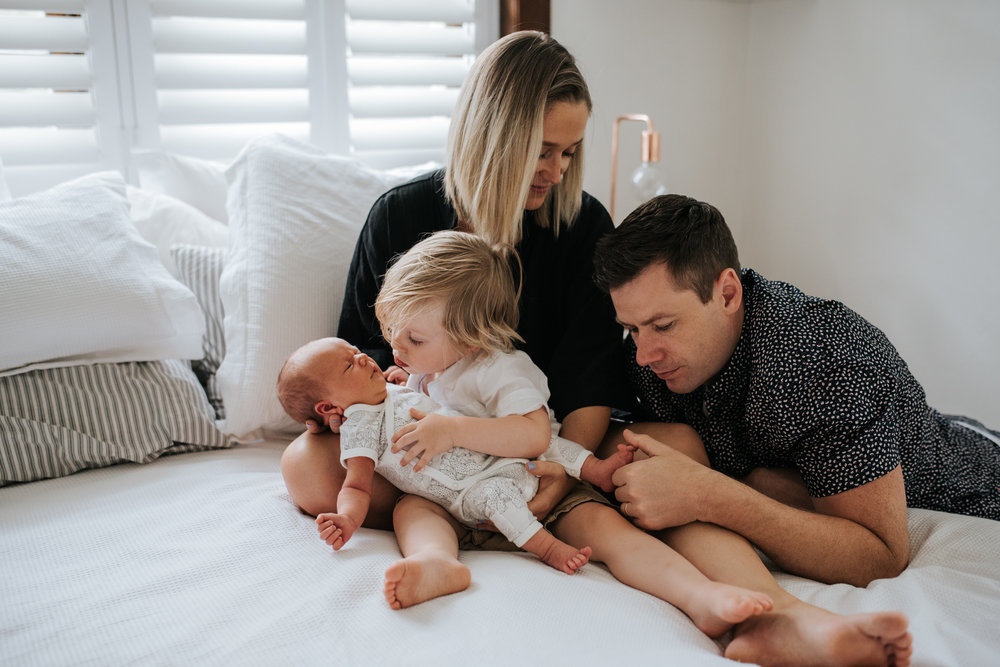 in home newborn photography melbourne