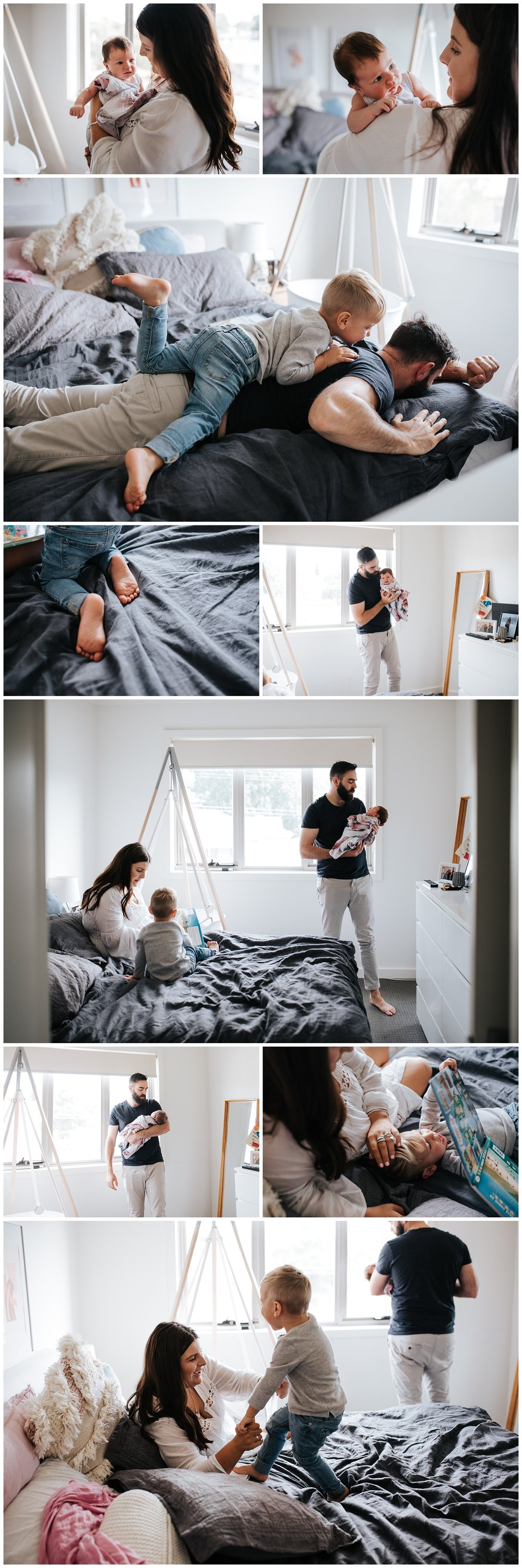 seddon lifestyle newborn and family photographer