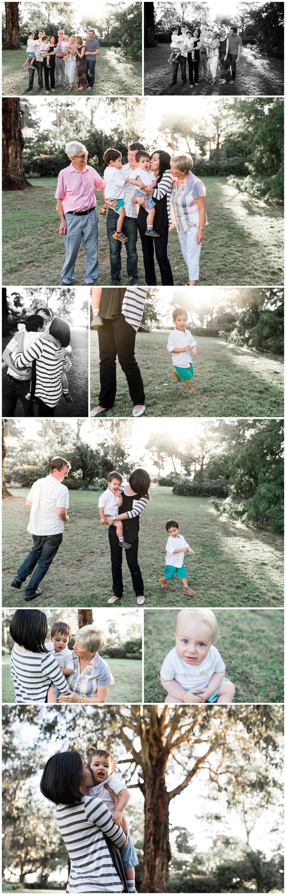 extended family photography in melbourne