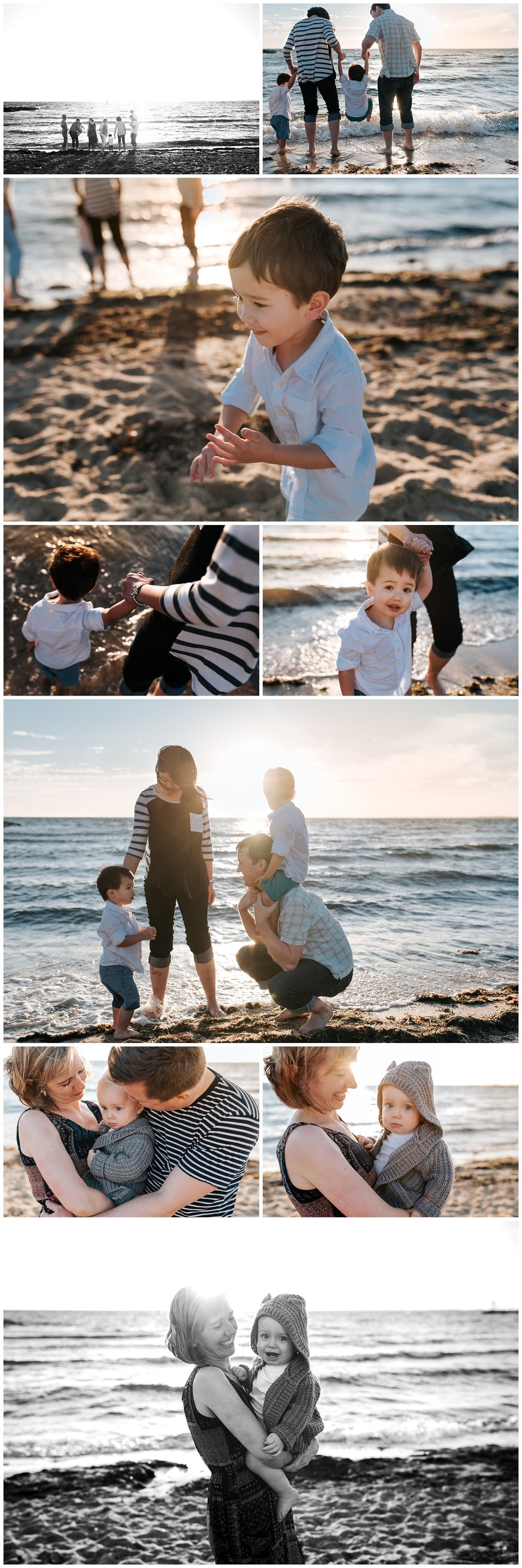 melbourne extended family photographer williamstown