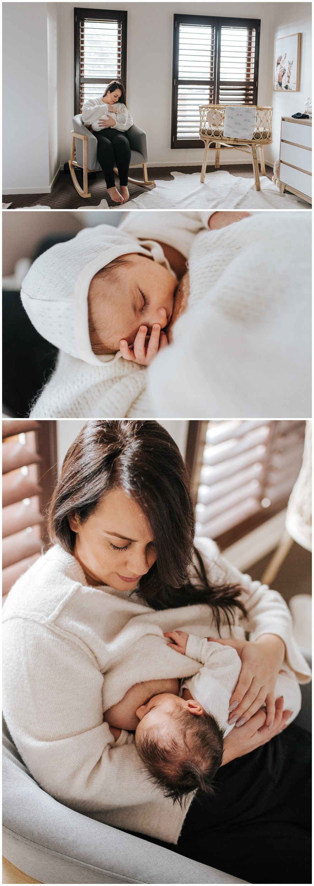 lifestyle newborn photography in melbourne
