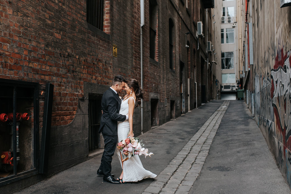 melbourne laneways wedding photography inspiration
