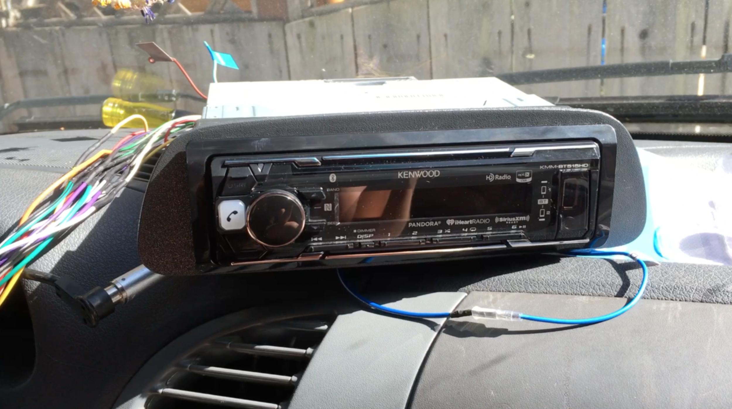 Sprinter Van Maintenance Replacing The Stereo Kaya Lindsay Old Car Radio Wiring