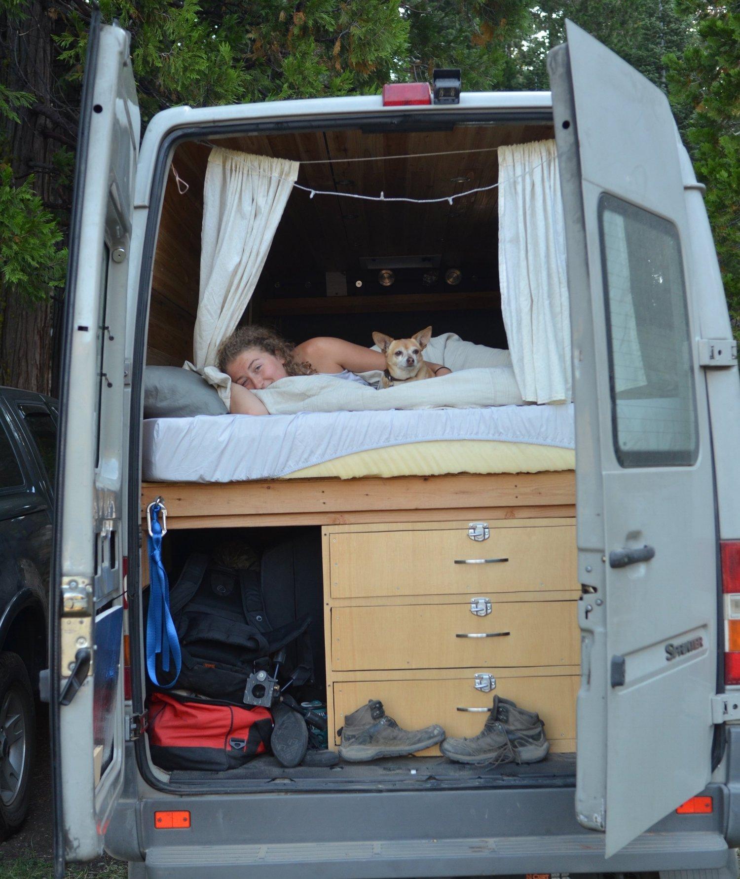 Living In A Van >> Yes I Live In A Van No I Am Not Homeless Kaya Lindsay