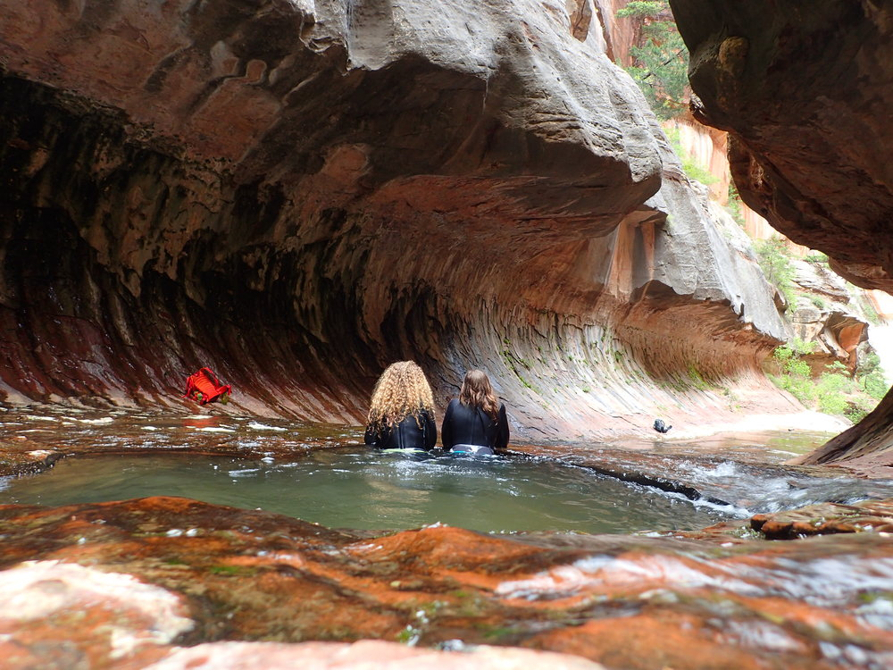 Hiking the Subway Zion - One Chick Travels