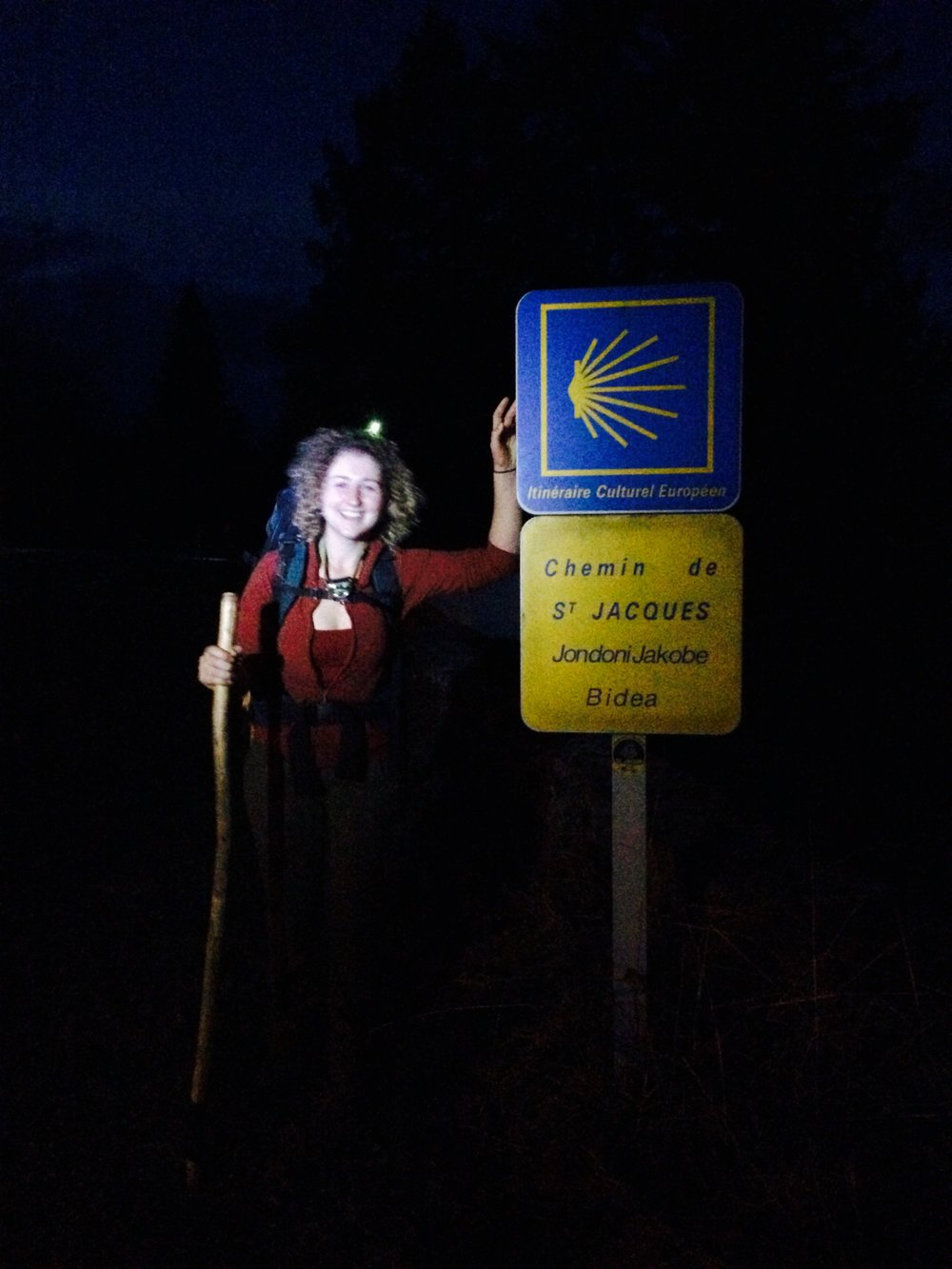 The start of the Camino!