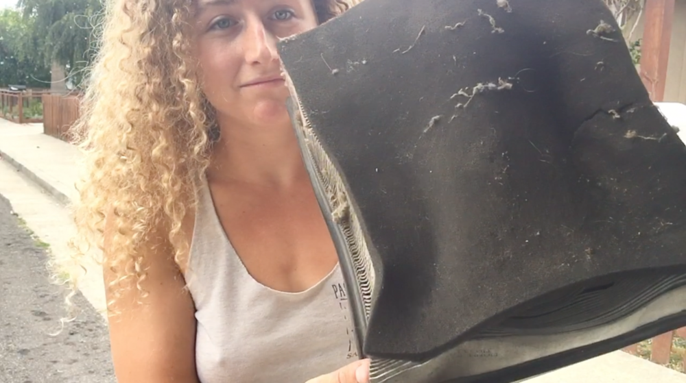 Replacing the Air Filter - One Chick Travels