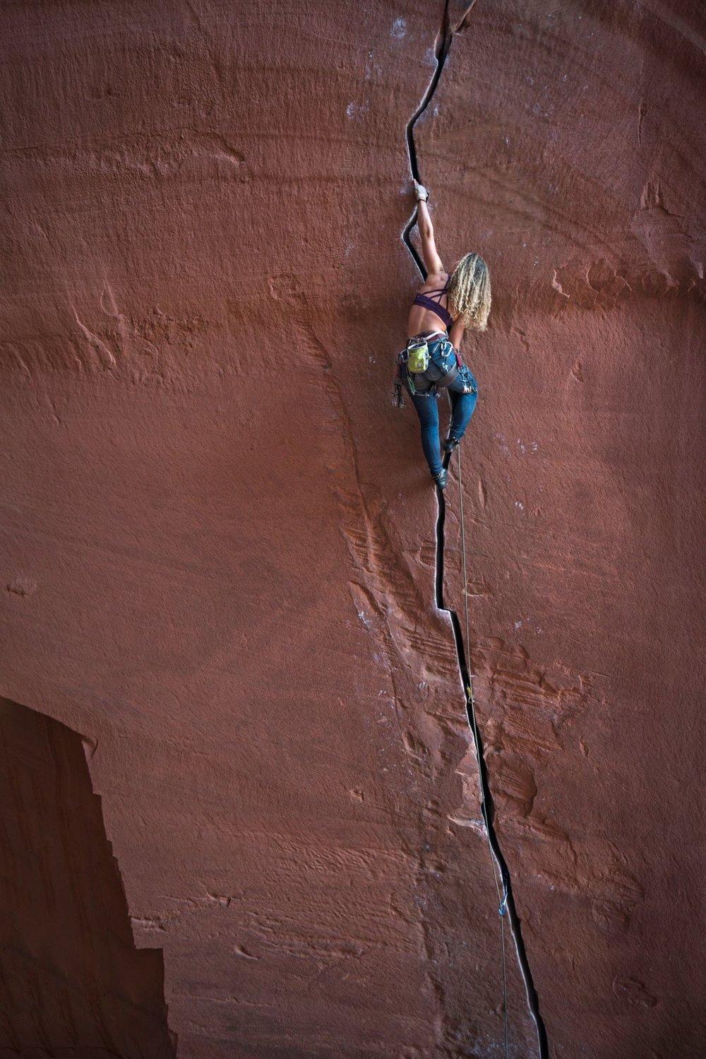 Kaya climbing Annunaki