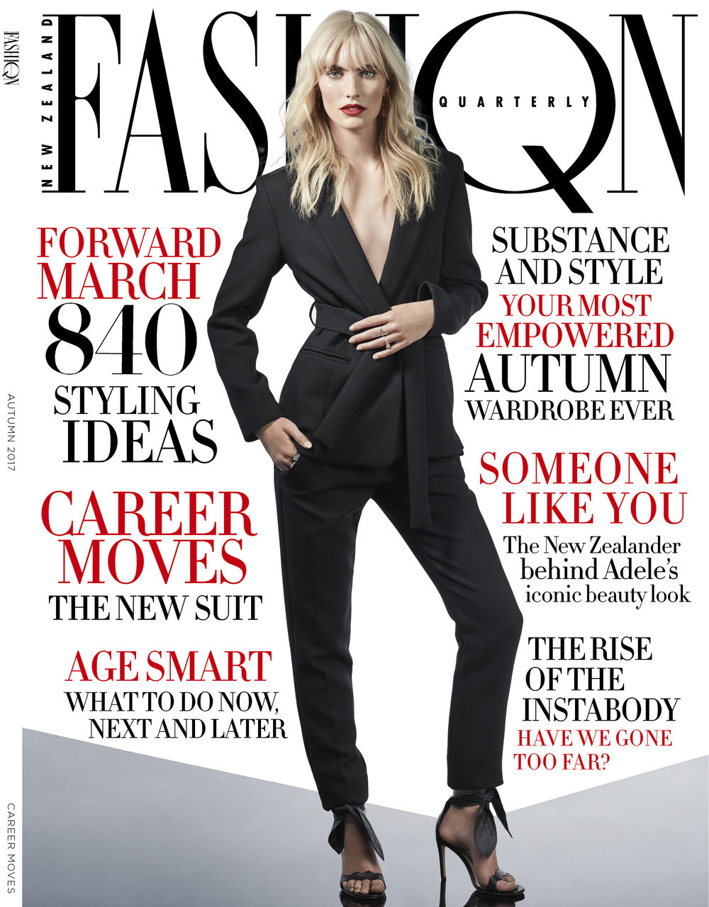 "Autumn 2017 Cover ""Fashion Quarterly"""