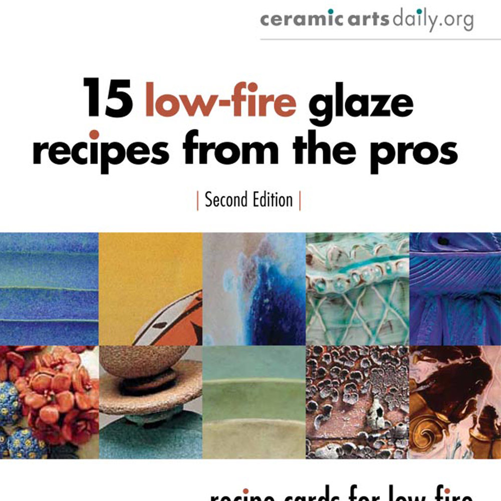2013-15low fired glaze recipes from the pros