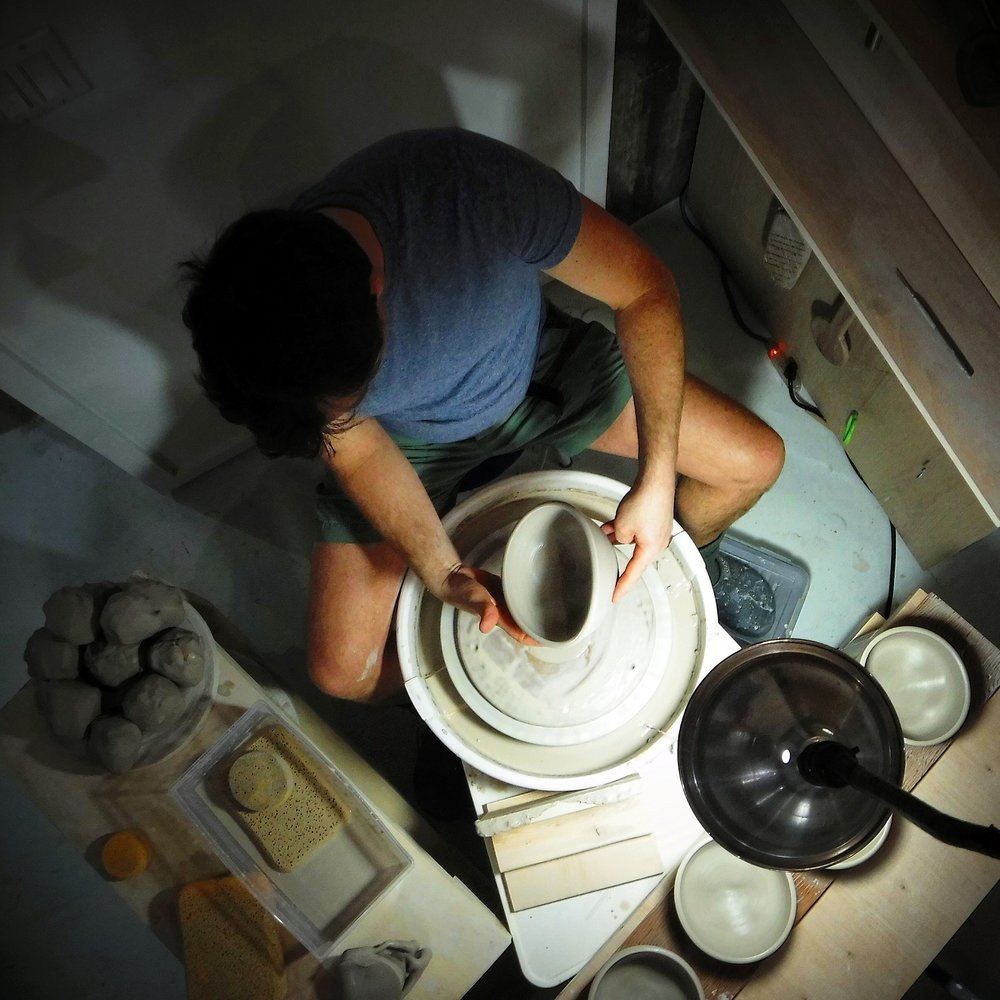 Bio - Darren Emenau has received consistent professional recognition for his art, including multiple ArtsNB Creation and Regional Grants. His work has been presented and included in public and private collections worldwide, and featured in numerous publications and exhibitions.Emenau participated in the International Craft Biennale in South Korea, and the 3rd International Ceramic and Glass Exhibition in Turkey. He has had annual solo exhibitions for most years of his career. Recently Emenau's work was featured in the international publication, Wood-Fired Ceramics 100 Contemporary Artists, along with publications in Ceramics Monthly and Ceramics Art and Perception. Most recently, his work was featured in Gifts of the Earth: Crafting Ceramics from Maritime Mud in Canadian Art.