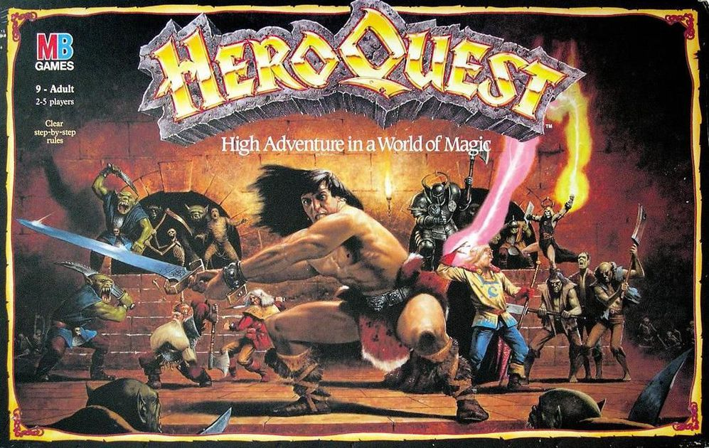 What Started it All for Me - Heroquest is solely responsible for sparking my love for tabletop roleplaying games. I have many fond memories of foregoing Saturday morning cartoons to play this with my older brother and two cousins. It's possible that this also started my fascination with playing dwarven races because I played a dwarf rogue in this game. While the game mechanics don't hold up well by today's standards, I enjoy it simply for it's nostalgic factor.