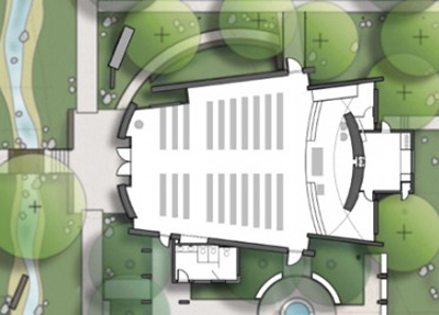 St Bartholomew, Valley Center - Plan !!Kevin deFreitas Architects