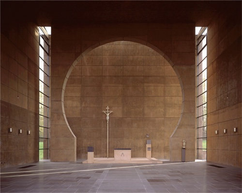 St. Pius X church, Hohenstein, 1998 !!Photographer: Lukas Roth
