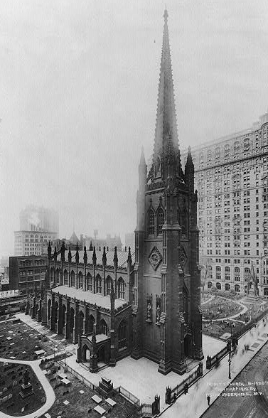 Trinity Church, New York City via Library of Congress
