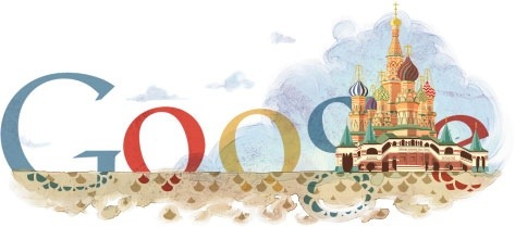 St Basil Cathedral, Moscow Google Doodle