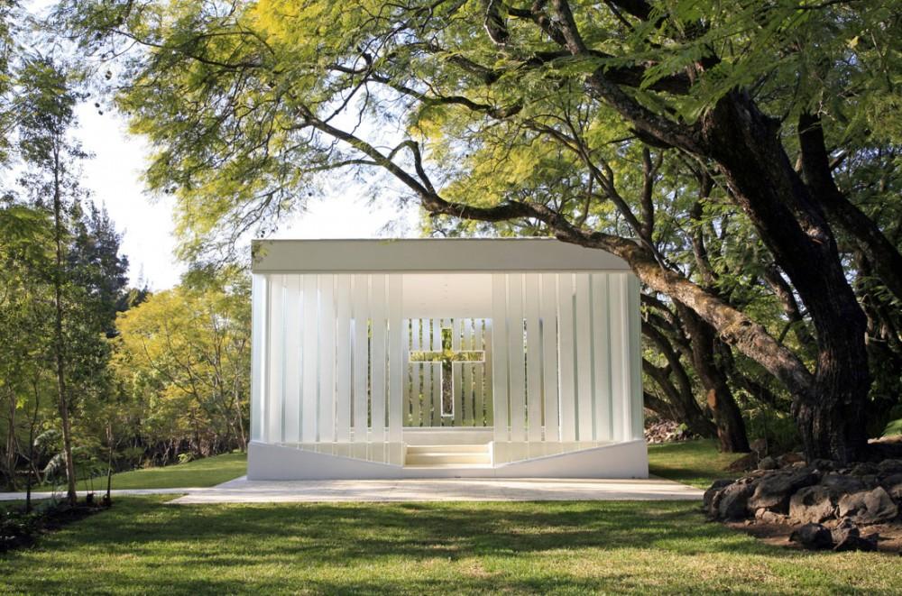 La Estancia Chapel by Bunker Arquitectura - image via ArchDaily