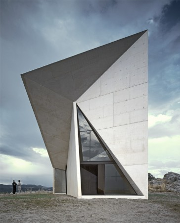 Chapel in Villeaceron by S.M.A.O. - image via ArchDaily