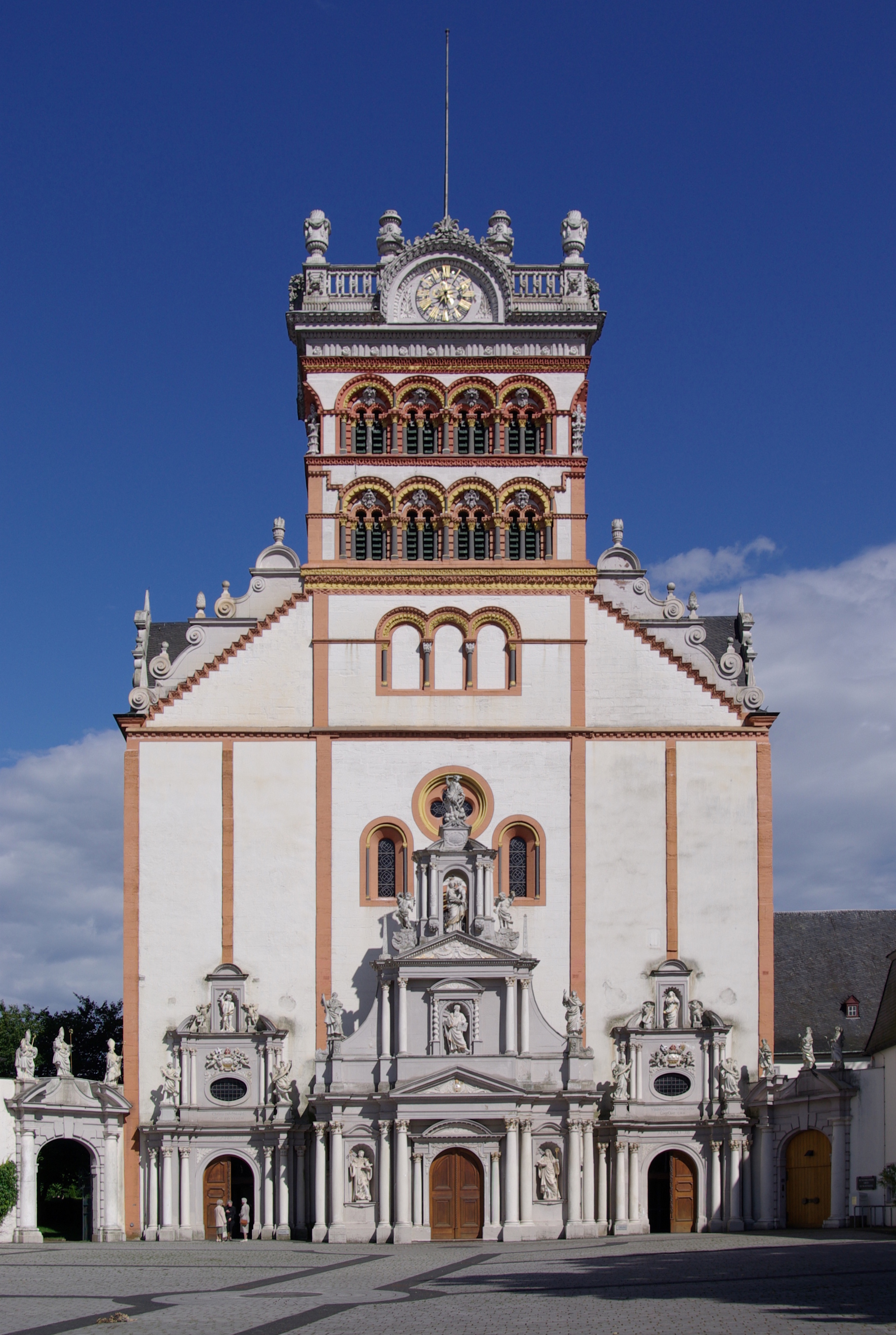 Saint Matthias church in Trier, Germany via Wikimedia Commons