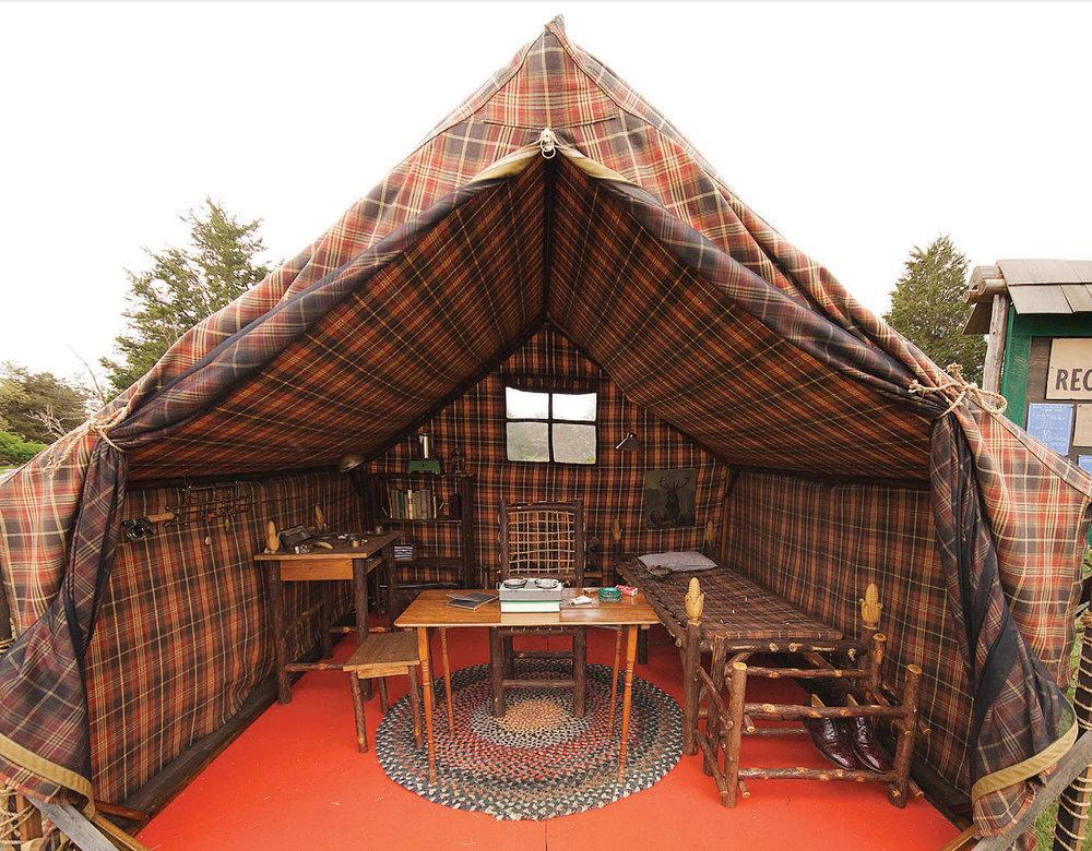 Khaki Scoutmaster Tent from Moonrise Kingdom