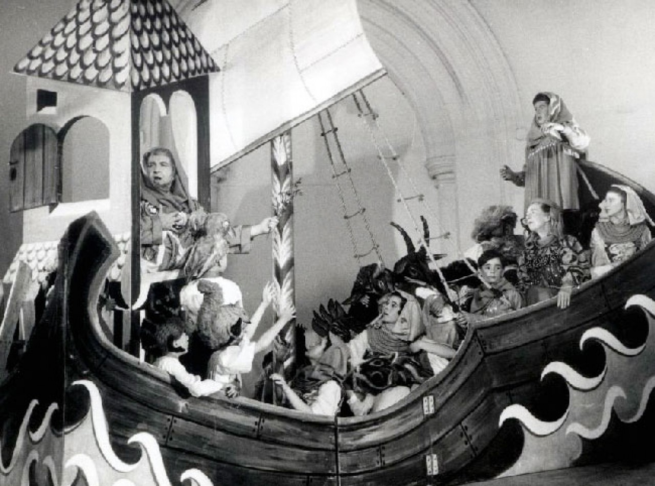 Noye's Fludde Original Production at St Bartholomew, Orford