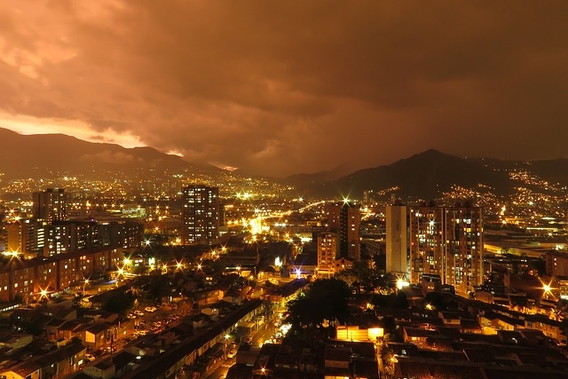 Medellin, Colombia - June 26, 2018 - July 24, 2018