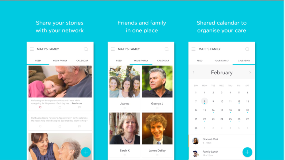 Journal, Contacts in One Place, Shared Calendar help provide a single, unified view