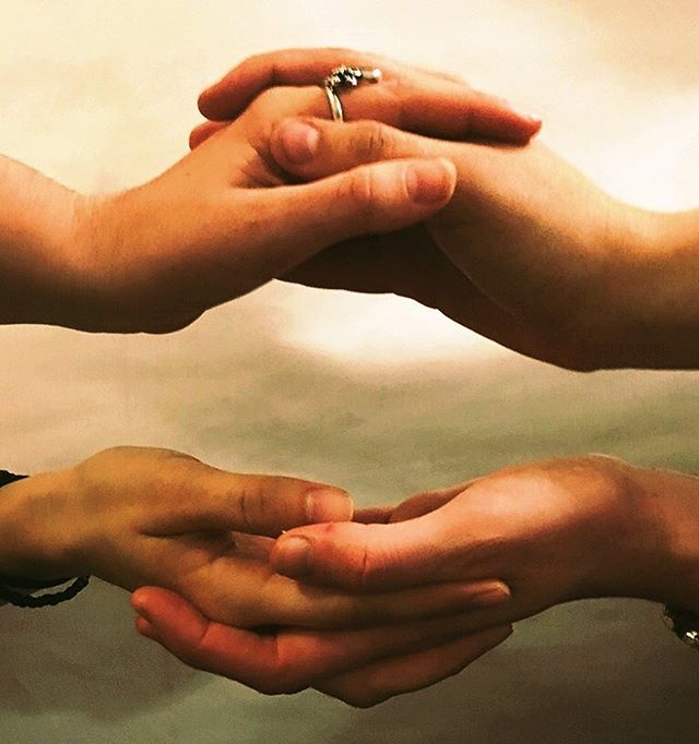 Calling all visual ARTISTS. We are looking for a new logo design based on this photo. DM if you are interested in submitting a design! #logodesign #visualart #graphicdesign #helpyoursisters #fembodiment #hands #togetherness #scrum