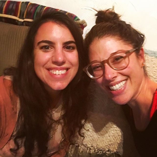 Sara and Elissa creating the practice for RESISTANCE on October 21! #scrum #practice #fembodiment #resistance #existanceisresistance