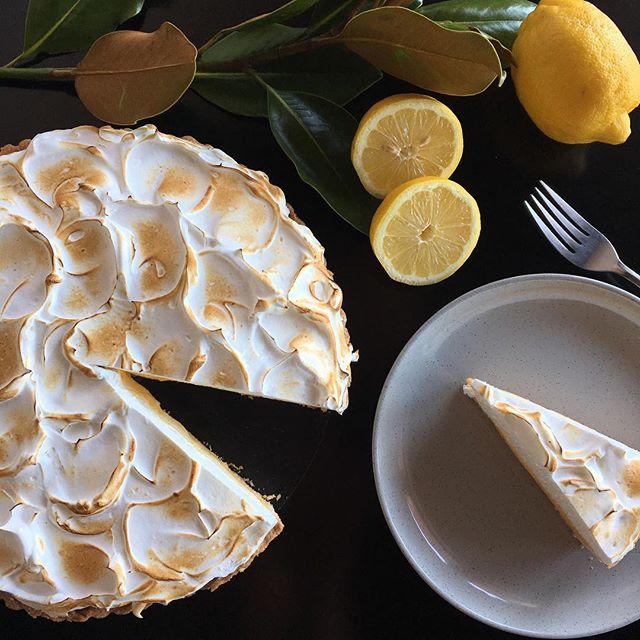 Italian lemon meringue pie #weekendmood