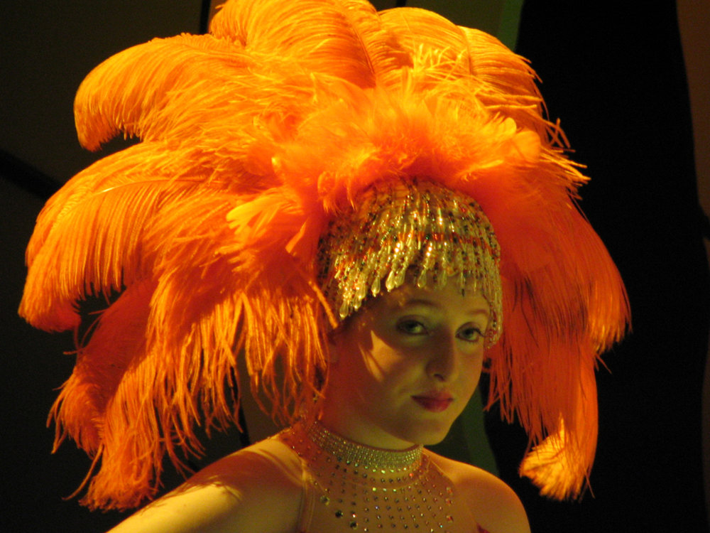 "Headdress for ""Seussical"" at First Stage Children's Theatre, 2006"